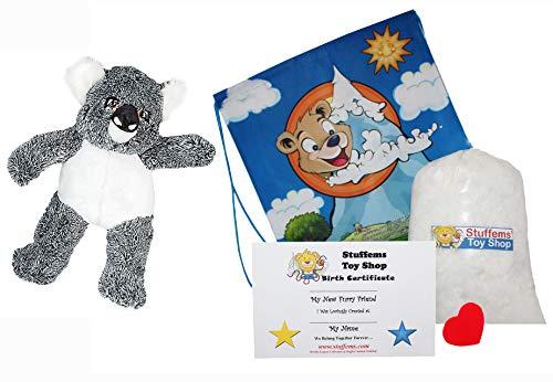Stuffems Toy Shop Erstellen Sie Ihr eigenes Kuscheltier Kevin The Koala 16