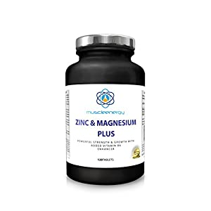 Muscleenergy zma tablets benefits from Zinc and Magnesium Plus Vitamin B6 in one tablet from Muscleenergy triple-action tablets stimulate the growth of muscle tissue by Muscleenergy