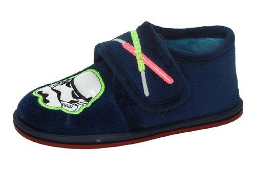 Zapatillas-star-wars-MORANCHEL-CASA-INVIERNO-talla-32-MARINO-SUAPEL