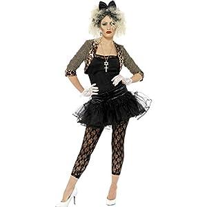 Smiffy's Women's 80's Child Costume - Size 12-14