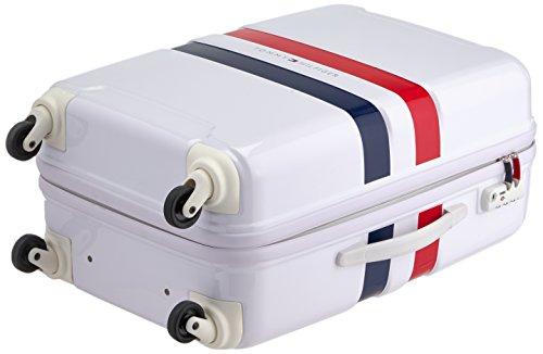 Tommy Hilfiger Cruise Laptop Rollkoffer, 68 Liter, Weiß Weiß
