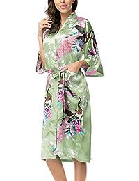 Amazon.co.uk  Green - Dressing Gowns   Nightwear  Clothing e37115662