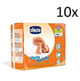 Chicco Lot de 10 couches asciutto taille 2 25 couches 3-6 kg