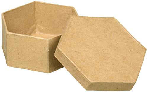 Hex Mini (Craft Pedlars Craft Ped Pappmaché Box Mini Hex-Kraftpapier)