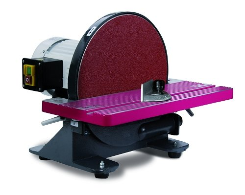 Optimum 054OP0305 Levigatrice a Disco Modello TS 900 per la Lavorazione dei metalli-900W, 900 W, 230 V