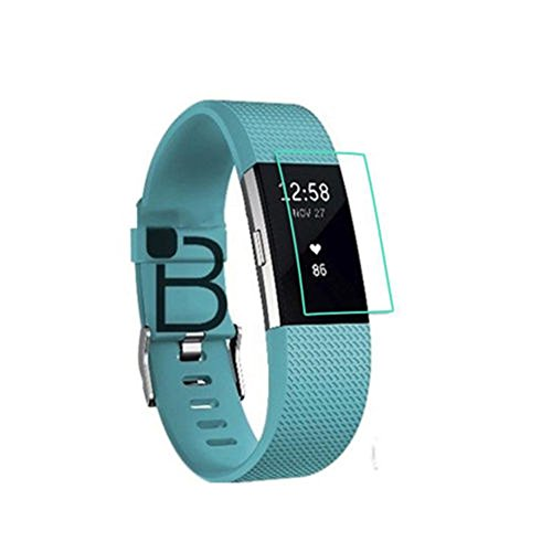 Preisvergleich Produktbild Interesting® 2 Packs Clear LCD TPU Displayschutzfolie Cover Guard für FitBit Charge 2