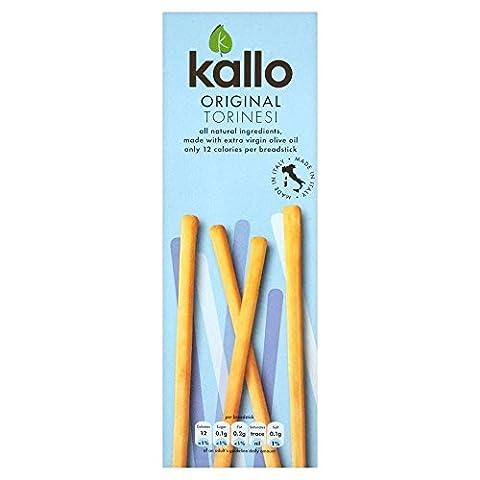 Kallo Original Torinesi Thin Breadsticks (125g) - Pack of 6