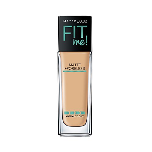 MAYBELLINE - Fit Me Matte + Poreless Foundation 228 Soft Tan - 1 fl. oz. (30 ml) Tan Chaps