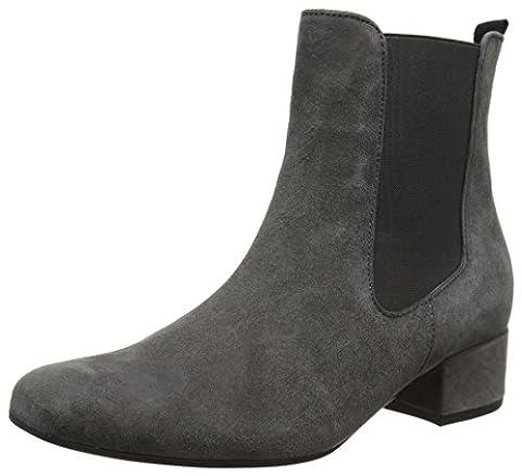 Gabor Shoes Damen Gabor Basic Stiefel, Grau (19 Dark-Grey), 37.5 EU