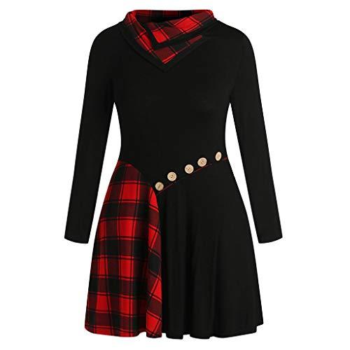 (TEBAISE Bluse Damen Langarm Shirt Herbst Pullover Lose Oversize Rundhals Langshirt Hemd Oberteil Tops Pullover Damen Pulli Langarmshirt)