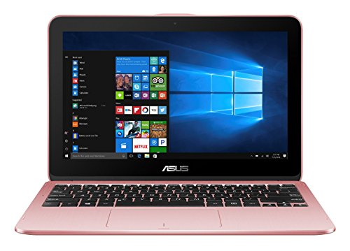 Asus Aufkleber (Asus VivoBook Flip 12 TP203NAH-BP055T 29,4 cm (11,6 Zoll HD Touch) Convertible Notebook (Intel Celeron N3350, 4GB RAM, 1TB HDD, Intel HD Graphics, Win 10 Home) rosegold)