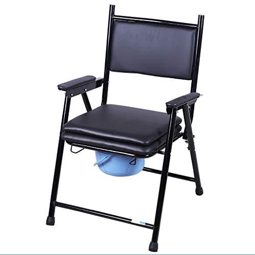 Lattice toilettenstuhl Kommode-Nachttisch, WC mit gepolstertem Sitz Multifunktionsbad Dusche-WC-Sitz für Erwachsene ältere Menschen -