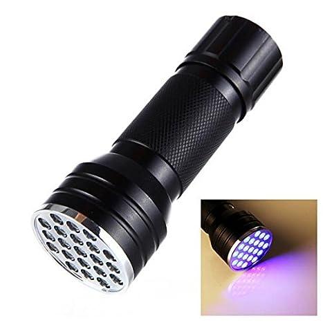 21LED UV Lumière noire Lampe torche, animaux chiens chats Détecteur d'urine UV détecteur de taches, trouver à sec les taches sur les tapis, les moquettes, Tapis, sol