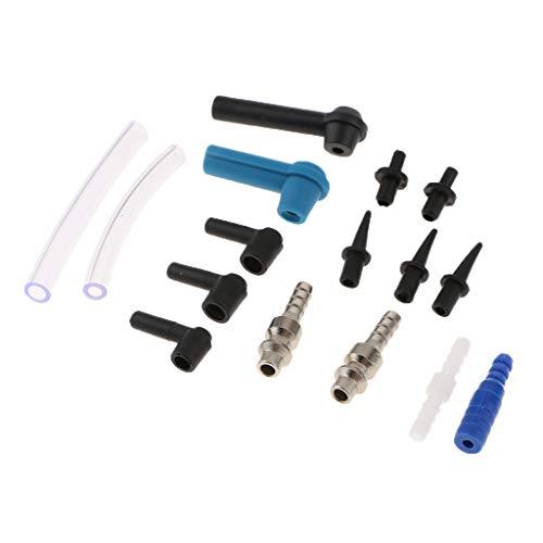 B Blesiya 16pcs Kupplung Connetor Bremsflüssigkeit Ölschlauch Zubehör Auto Reparatur