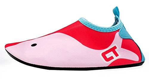 Amkun, Scarpe da immersione bambine Red