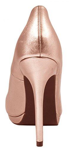 Elara - Stivali Donna Champagne