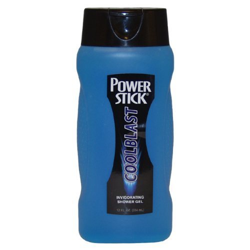 Power Stick Cool Blast Invigorating Men Shower Gel, 12 Ounce