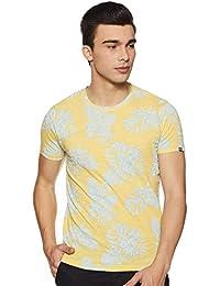 Pepe Jeans Men's Floral Slim fit T-Shirt