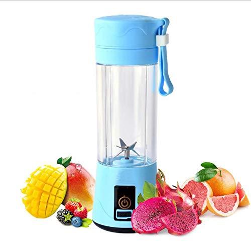 FPXNBONE Fruta, Verdura, Smoothies, Extractor,Exprimidor portátil multifunción, Carga USB Doble Taza...
