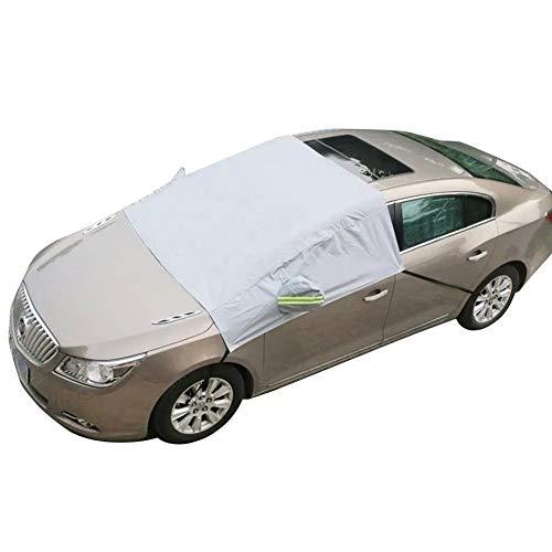 BESTEU Auto Windschutzscheibe Sonnenschirme Universal Car Sonnenschutzfolie Frontscheibe Abdeckung Car Half Body Cover