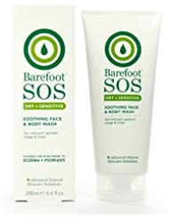 Barefoot SOS Dry & Sensitive Soothing Face and Body Wash 200 ml