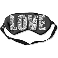 Love Art Words Sleep Eyes Masks - Comfortable Sleeping Mask Eye Cover For Travelling Night Noon Nap Mediation... preisvergleich bei billige-tabletten.eu