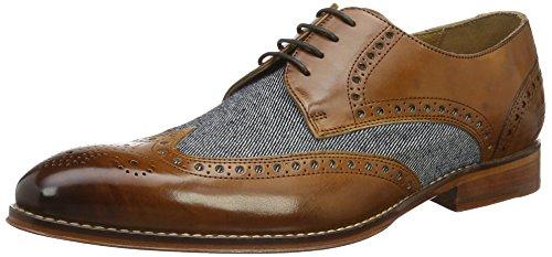 Melvin & Hamilton Kane 5, Derby homme Mehrfarbig (Crust/Jeans Wood(1,3,4)/Lt.Blue(2) LS NAT)