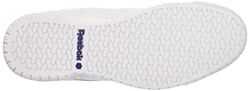 Reebok Ex-O-Fit Lo Clean Logo Int, Baskets Basses Homme Blanc (White/Royal Blue/Royal Blue)
