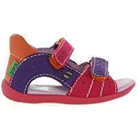 Kickers Boy and Girl Sandals 279113-10 Boping 213 Fuchsia Violet