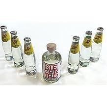 Siegfried Gin Tonic Set - Siegfried Rheinland Dry Gin 500ml (41% Vol) + 6 Schweppes Tonic Water 200ml