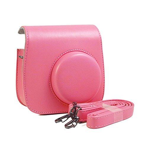 ür Fujifilm Instax Mini 9 Sofortbildkamera. Passt auch auf die Mini 8 und Mini 8+ Kamera (Flamingo rosa) (Halloween Taschen Zum Verkauf)