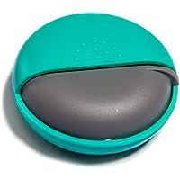 Morepack Pillendose Klein Rund Pillenbox Vitamine Medizin Tablet Organizer Case (Blue) preisvergleich bei billige-tabletten.eu