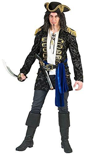 üm für Herren - Gr. 52 54 (Blue Pirat Mantel)