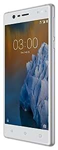 Nokia 773615 Smartphone da 16 GB, Argento/Bianco