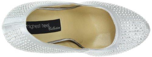 Chaussures strass - Highest heel - BOMBSHELL-31 silver