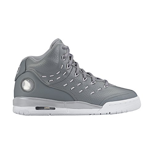 new product 810a6 e32c4 Nike Jordan Flight Tradition Bg Jungen Turnschuhe Grau   Weiß (Cool Grey    White-