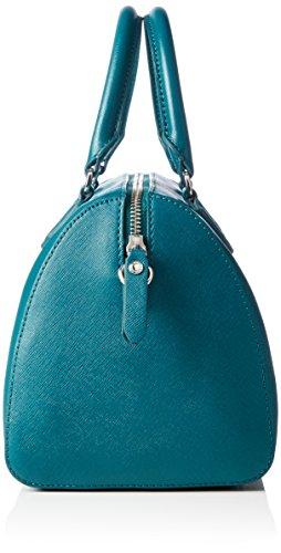Ecco Iola, Borsa Bowling Donna Blu (Blau (90557)