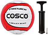Cosco Premier Volley Ball, Size 4 and Cosco Hand Pump