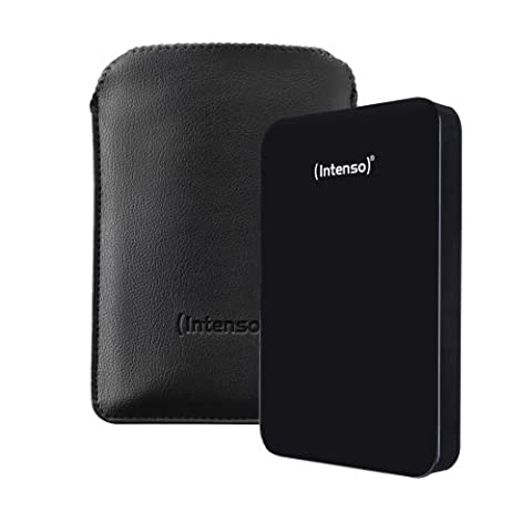 Intenso Memory Drive 500GB externe Festplatte inkl. Tasche (6,4 cm (2,5 Zoll), 5400rpm, 8MB Cache, USB 3.0)
