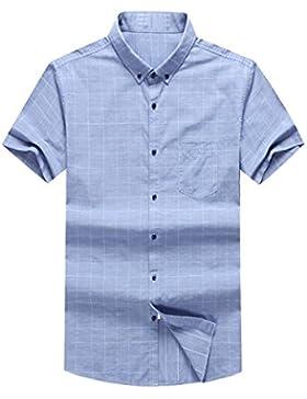 Camisa De Lana De Caída De Hebilla Camiseta De Tamaño Grande Flojo De Hombres Camisa Blusa