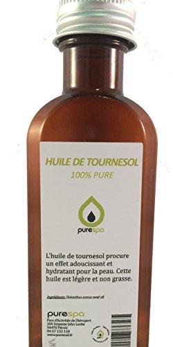 Huile de MASSAGE NEUTRE sans parfum, 100% végétale -100% PURE - 250 ml