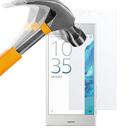 moodie Panzerglas Folie für Sony Xperia XZ - Premium Glasfolie 9H Panzerglasfolie für Sony Xperia XZ