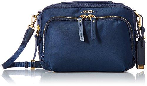 Tumi Voyageur - Luanda Flight Bag Bolso bandolera, 21 cm, 1.63 liters, Azul (Ocean Blue)