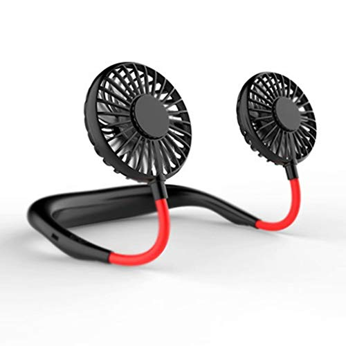 CXLYJ USB Fan faul hängenden Hals Sport Wind Mini-Fan tragbar