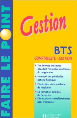 Gestion : BTS comptabilité-gestion