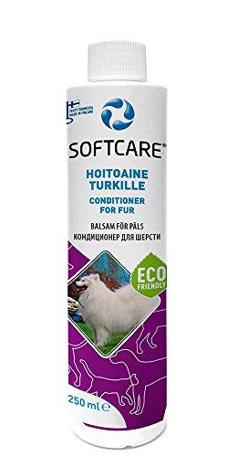 M-SOLUCIONES - Softcare Acondicionador para Mascotas. Sin Sulfatos. Sin Fragancias y Colorantes. Especialmente para Perros y Gatos - 250ml.
