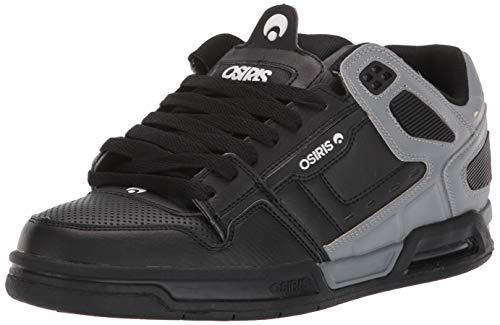 Osiris Peril, Chaussure de Skate Homme, Gris/Blanc, 42.5 EU