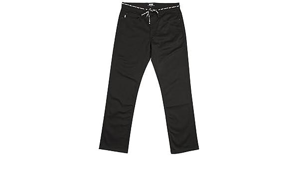 DGK Mens Icon Stretch Twill Pants Black