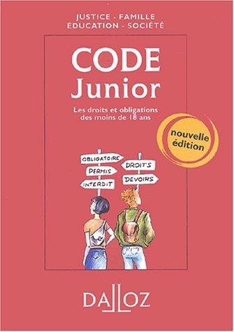 Code junior : Les droits et obligations des moins de 18 ans