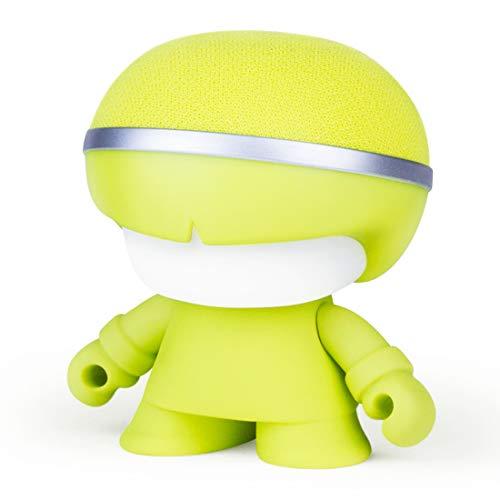 Xoopar XBOY81001.31A Boy Mini 7,6 cm (3 Zoll) Bluetooth Lautsprecher matt Lime